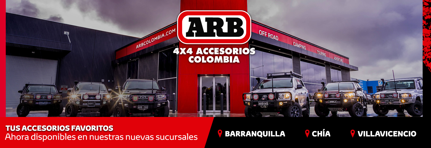 4x4 accesorios Colombia